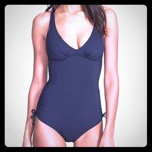 Lols Swim black one piece, size large